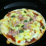Receita do dia: pizza de frigideira!