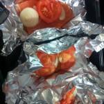 Receita do dia: salmão assado com cogumelos