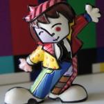 Sou uma artista de circo!