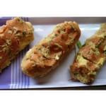 O pão de alho do Peu