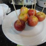 Receita do dia: a maçã do amor do Rodrigo Hilbert
