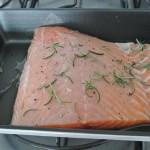Receita do dia: salmão ao molho de laranja