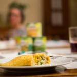 Para o domingo: panquecas de milho com catupiry