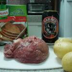 Receita do dia: carne assada com cerveja