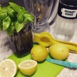 Receita do dia: sorvete de limão siciliano com manjericão
