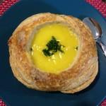 Para o friozinho: sopa de mandioquinha