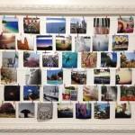 Faça você mesmo: quadro de fotos