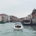 Pelas gôndolas de Veneza