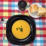 Sopa de legumes caseira