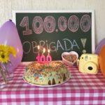E nós somos 100 mil!