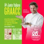 GRAACC e o jantar italiano com Carlos Bertolazzi