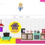 Um pedacinho do blog na sua casa