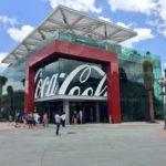 A loja da Coca Cola em Orlando
