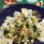 Receita do dia: tiradito de peixe marinado no azeite