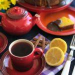 Chá de hibisco com limão e canela