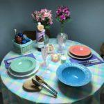 Uma mesa para o dia dos namorados