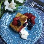 Pavlova de lasagna