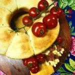 Pão de linguiça com queijo