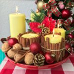 Vídeo novo: arranjo de mesa de Natal