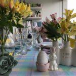 Vídeo novo: decoração de mesa de Páscoa