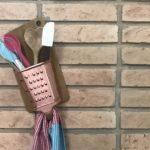Vídeo novo: faça o seu porta utensílios