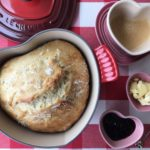 Vídeo novo: pão sem sova na panela de coração