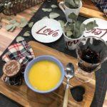 Confraria: sopa de mandioquinha