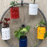 Faça você mesmo: flores na bicicleta