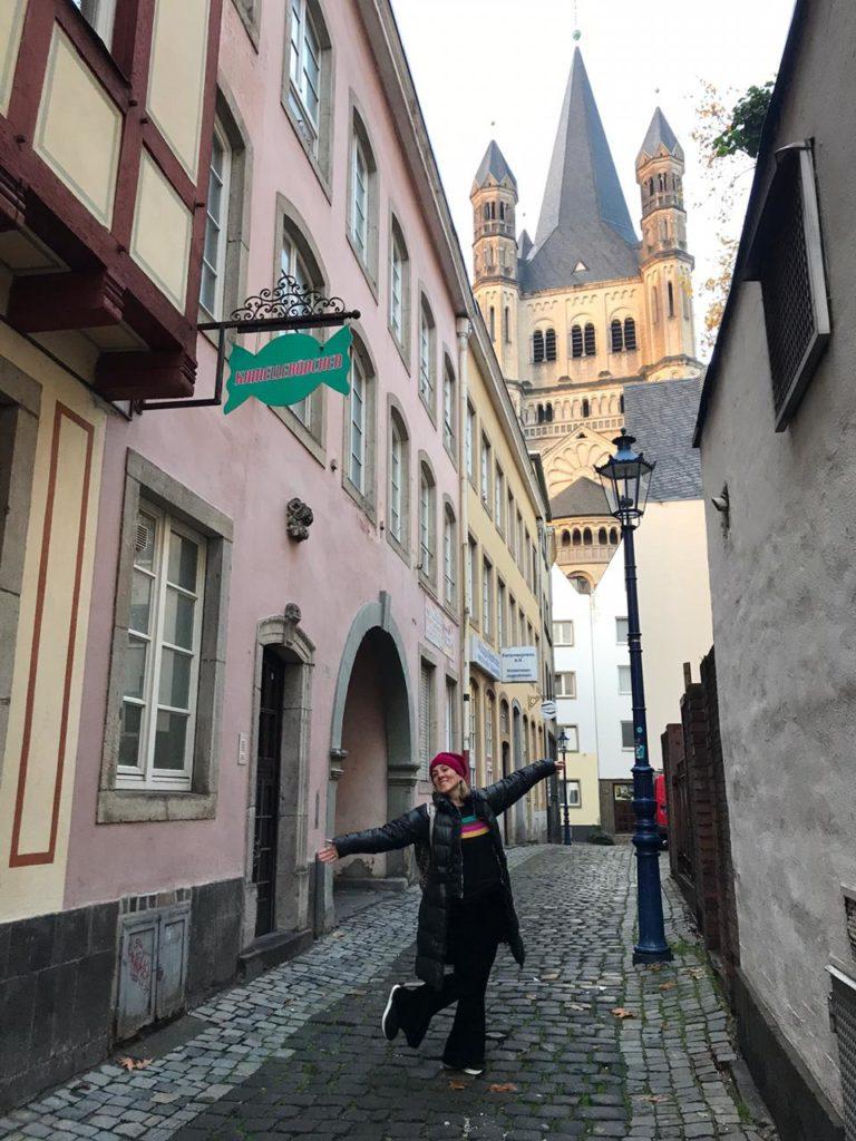 Pelas ruas de Colonia