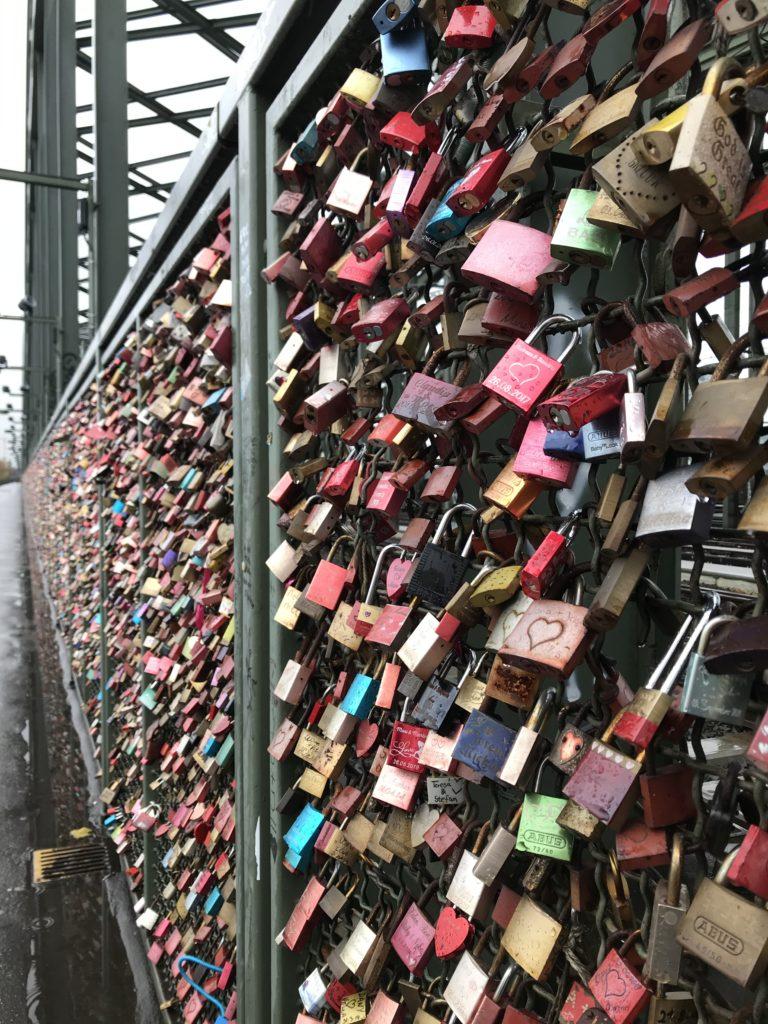 A ponte dos cadeados