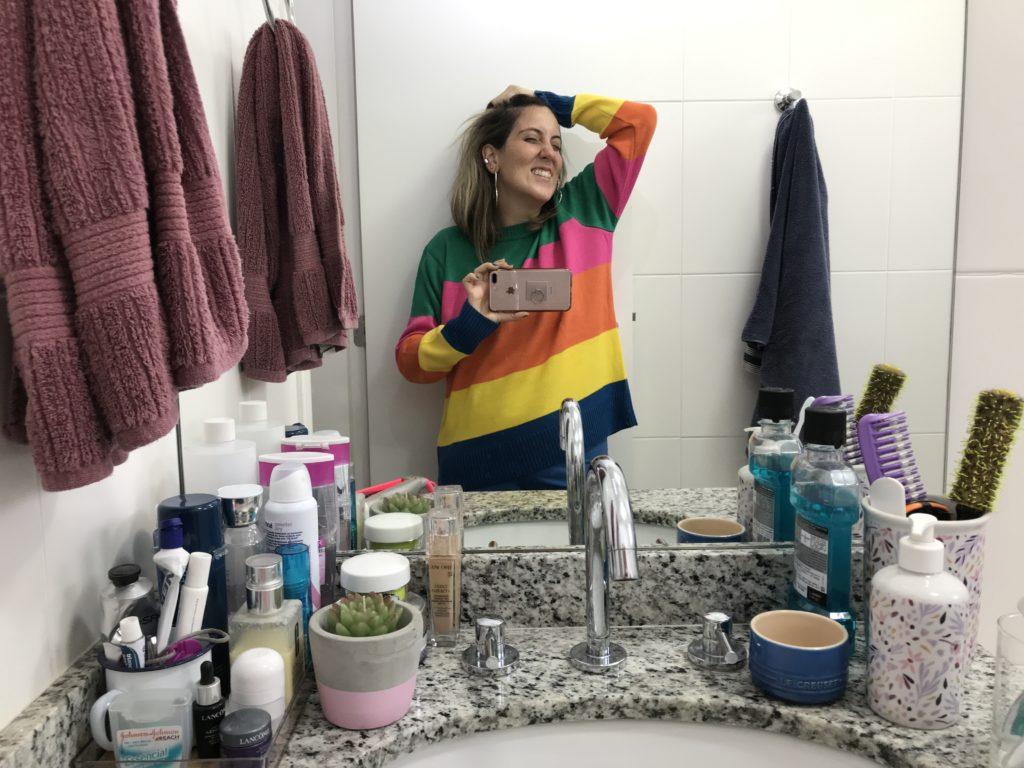 meu banheiro organizado