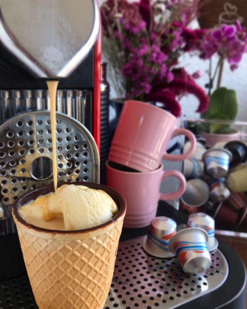 café na casquinha nespresso