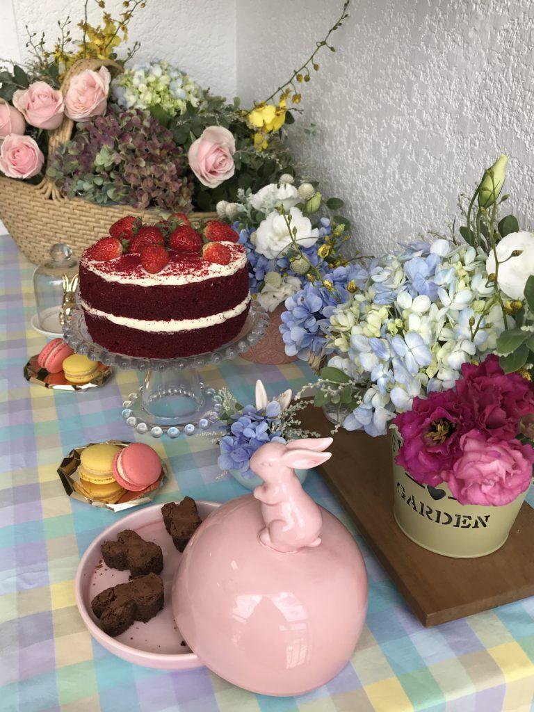 flores e candy colors