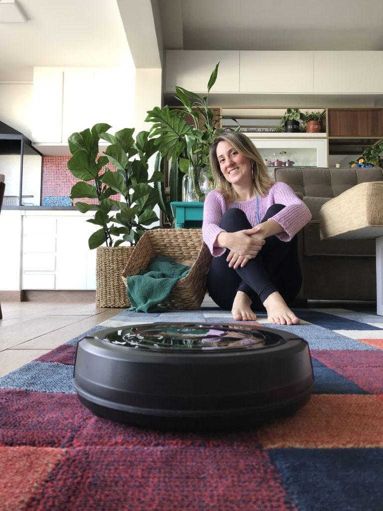 Um robô para ajudar na limpeza de casa