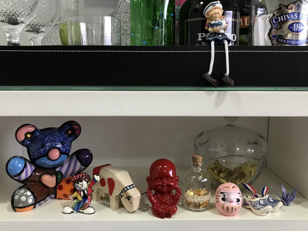 objetos de decoração de casa