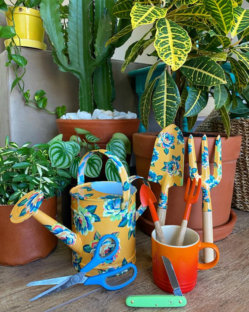 Ferramentas de jardinagem para suas plantas