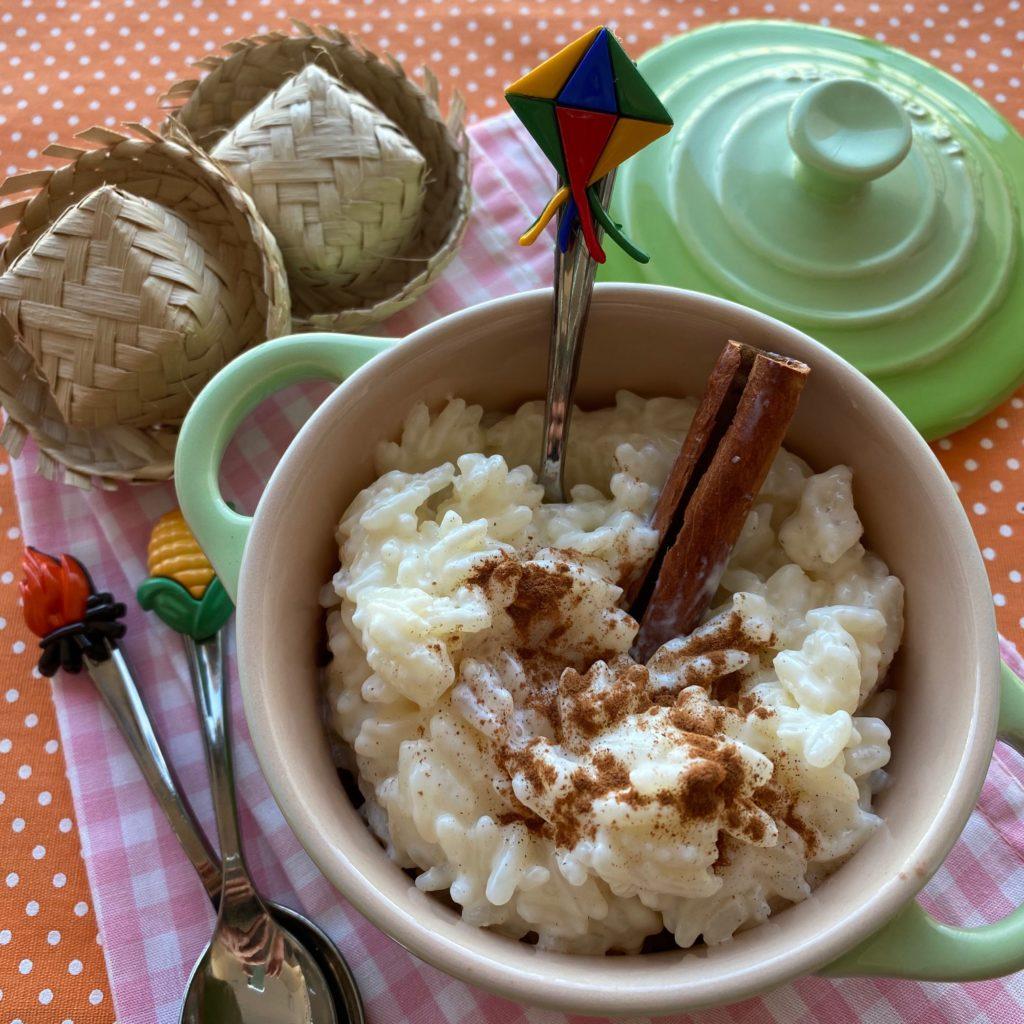 receita de arroz doce