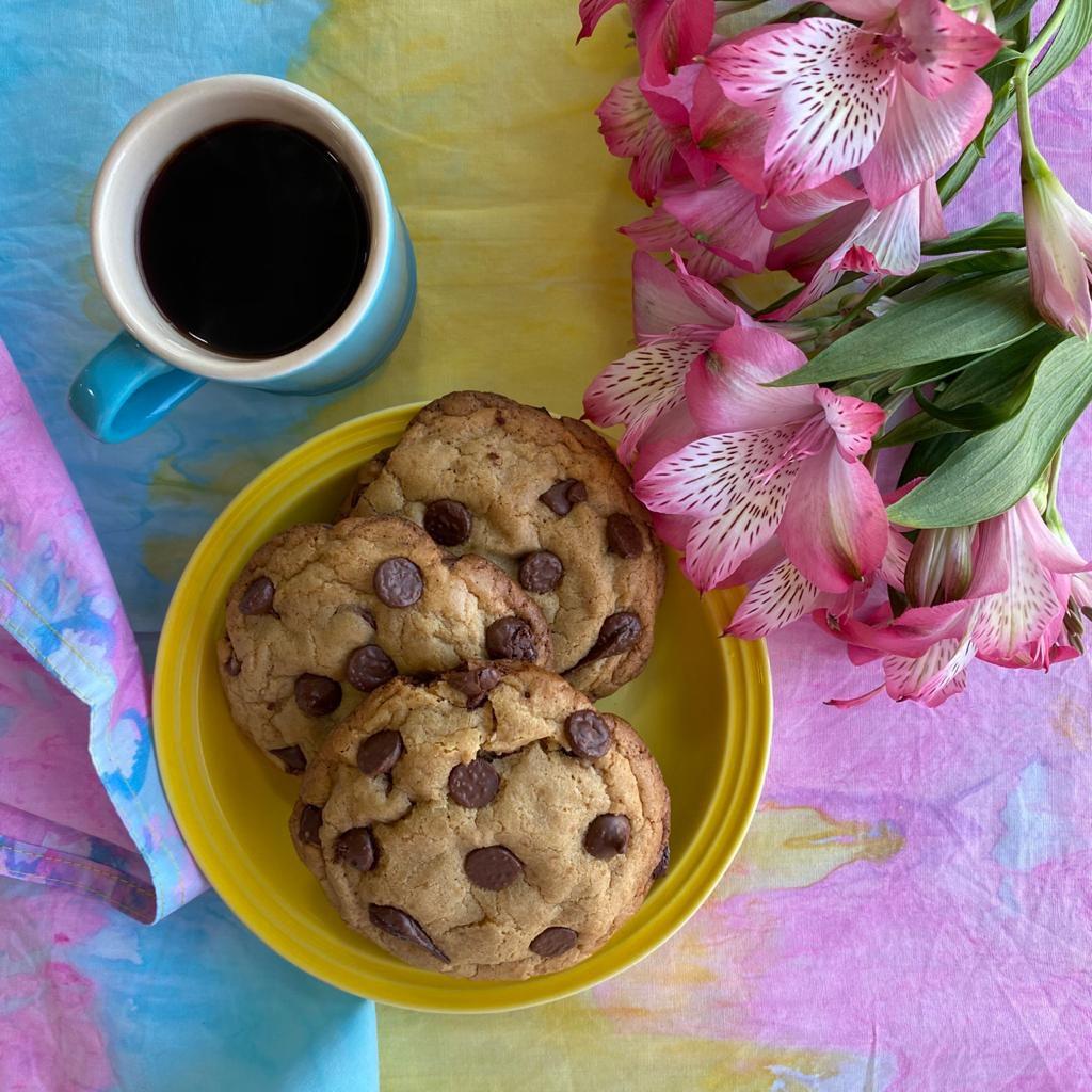 Cookies com gotas de chocolate receitas nestlé