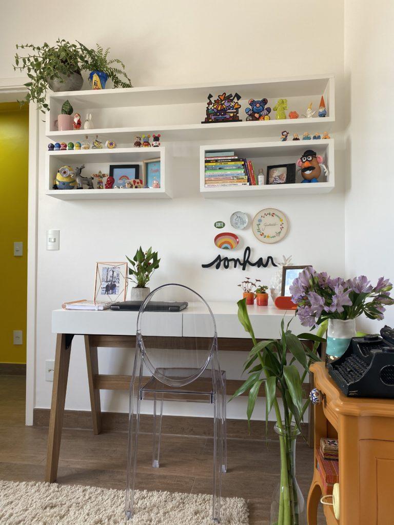 Um tour pelo meu novo home office