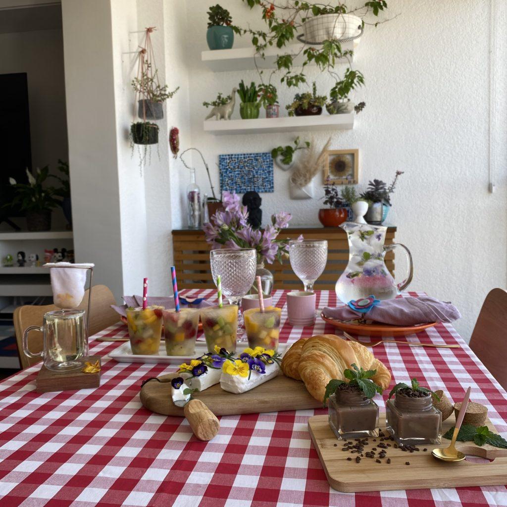 5 DIY com flores para comer
