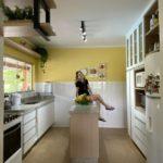A transformação da cozinha do sítio