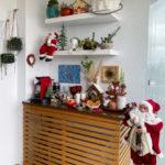 Como montar um cantinho do café natalino