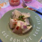 Receita do clássico ceviche peruano