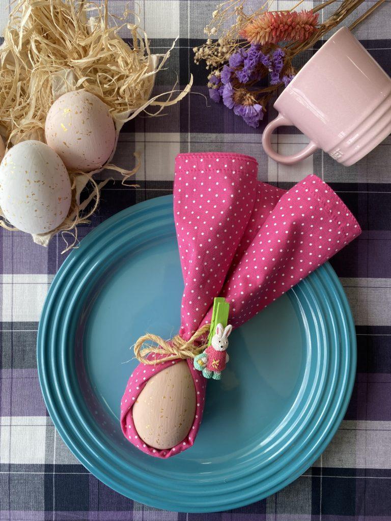 5 ideias DIY para mesa posta de Páscoa