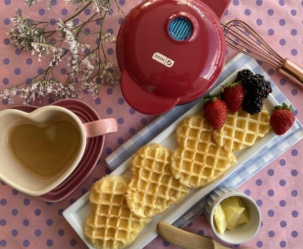 Comprei uma máquina de waffle