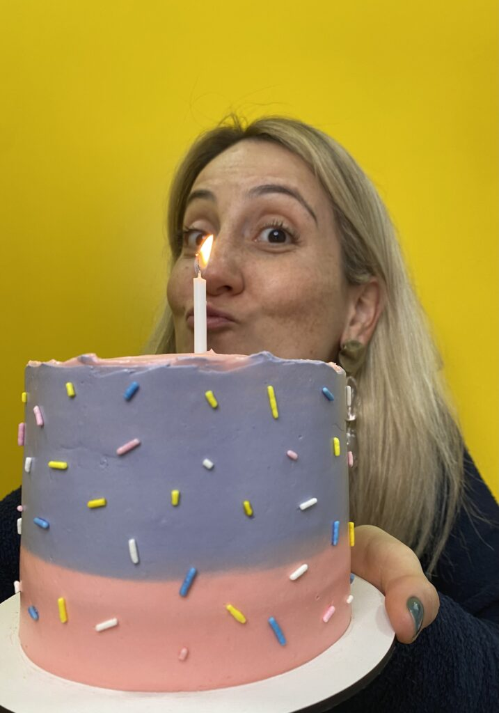 Meu bolo de aniversario