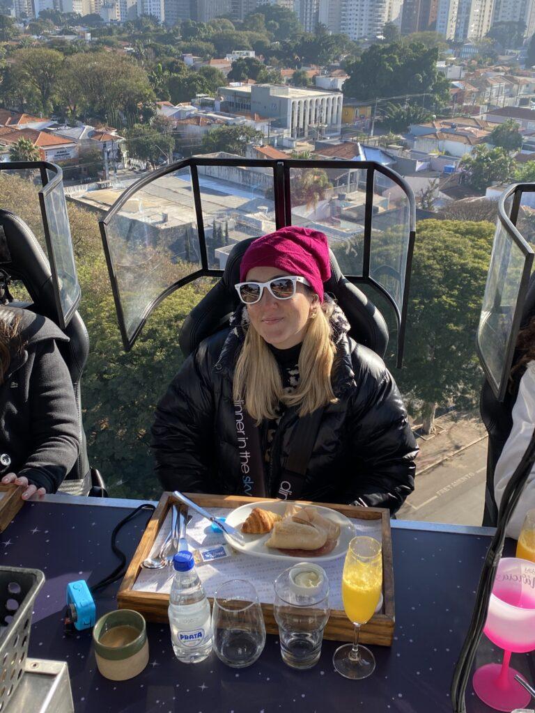 A experiência Dinner in the Sky