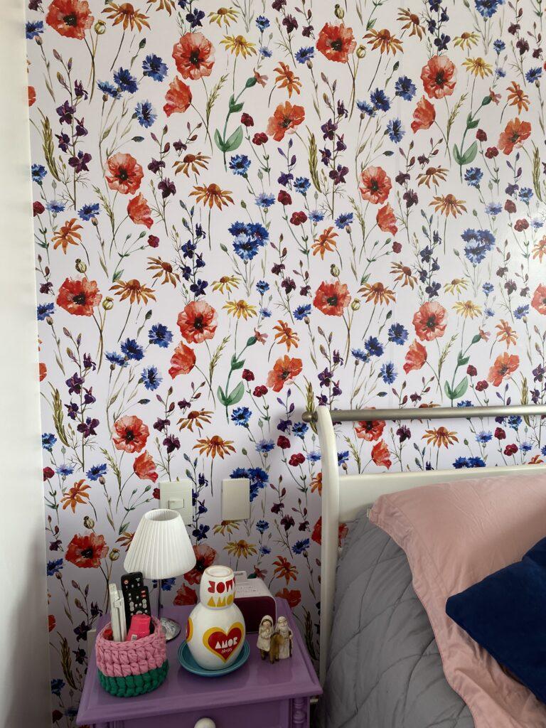 Transformando a parede meu quarto